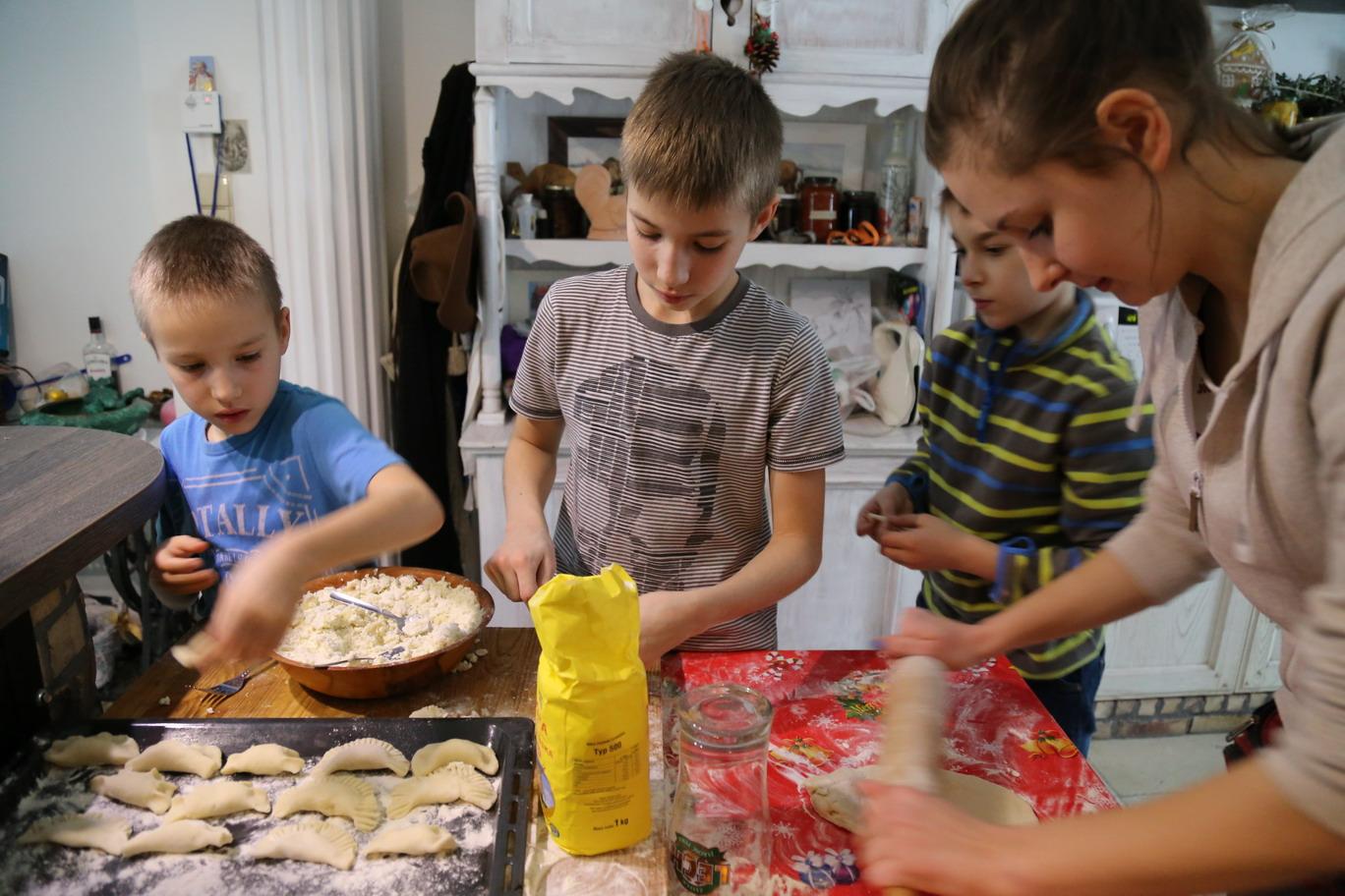Zielone Szkoły - zajęcia kulinarne